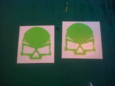 Call Of Duty Skull 50mm Decal Sticker PS3 Xbox Halo Ghost MW3 Elite
