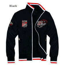 New arrival fashion men's 1pc ancient embroidery through Paul shark jacket M-XXL
