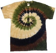 Tie Dye T-Shirts Multi-Color, Short Sleeve, 100% Cotton, Adult Large, Gildan