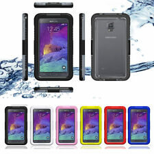 Nice Waterproof Case Cover For New Samsung Galaxy Note 4 Phone Protective Shell