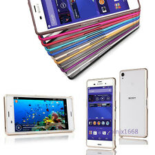 NEW Luxury Ultrathin Aluminum Metal Bumper Case Cover For Sony Xperia Z3 Z2 Z1 Z