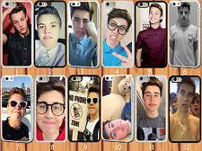 for iPhone 5/5S hard case magcon boys-Matt Espinosa-Cameron Dallas-Nash Grier
