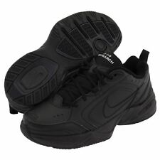 NEW Nike AIR MONARCH IV Mens Black Comfort Lace Up Running Training Shoes