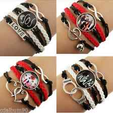 BRACELET ARMBAND PULSERA BRACCIALETTO WRISTBAND 5SOS FIVE SECONDS OF SUMMER NEUF