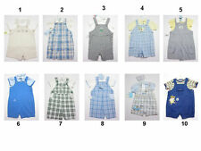 NEW Infant Baby Toddler Boy Romper Jumpsuit Creeper Shortall Sz:3-6 To 24 Months