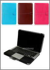 """PU Leather Laptop Case Cover Sleeve Shell Bag For Apple Macbook 13.3"""" Retina"""