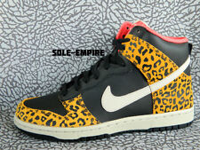 WMNS Nike Dunk High Skinny 429984-011 DS Black Leopard Pink Animal Pack cheetah
