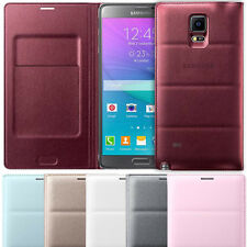 Official Samsung Side Flip Padded Wallet Case Cover for Samsung Galaxy Note 4