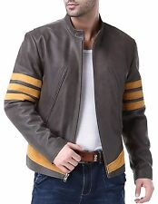 Airborne Leathers Mens Cow Distressed Leather Jacket