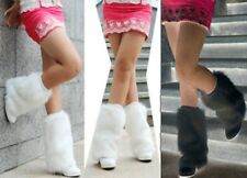 NEW 9inch Fashionable Boot Toppers Cuff Fluffy Soft Furry Faux Fur Leg Warmers