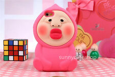 Cute funny 3D Cartoon Kobito Dukan Soft Silicone Case cover for iphone6 plus 5S