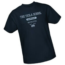 EUREKA - THE TESLA SCHOOL - EUREKA - MATHLETICS -- Adult Size T-Shirt