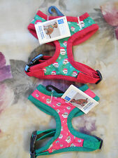 East Side Collection Soft Body Harness Dog Walking Vest Collar Holiday Monkeys