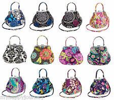 VERA BRADLEY Mini Frame Crossbody Evening Bag Purse Multi Colors NWT