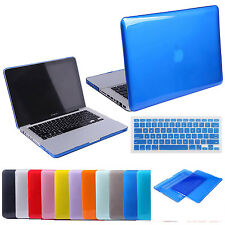 """Glossy Snap-On Hard Cover Case Shell For MacBook 11"""" 12"""" 13"""" 15"""" Air Pro Retina"""