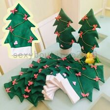 Household Christmas Tree DIY Decorations Wine Bottle Covers Ornaments 11*31CM