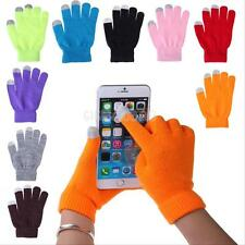 Men/Women Winter Touch Screen Gloves For Smart Phone Tablet Full Finger Mittens