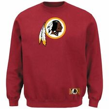 Washington Redskins MENS Sweatshirt Pullover Crewneck Heavyweight Red