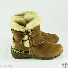 Kangroo® Cozy Ladies Australia Sheepskin Lambskin Womens Short Boots Cover Ankle