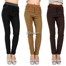 Women Thick Warm Fleece Winter Sexy Tights Pencil Leggings Pants Trousers BF9