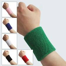 COOLTerry Cloth Cotton Sweatbands Wrist Band Sports/Yoga/Workout/Running