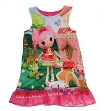 Lalaloopsy Doll Jewel Sparkles Girl's Sleepwear Dress 2-9Y #Q032