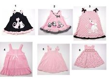 NEW Toddler Infant Baby Girls 1 Pc Dress Sz:3-6,6-9,12,18,24 Mo Rare Editions