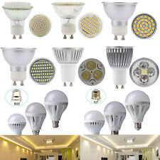 Ultra Bright Dimmable B22 GU10 CREE LED Spot Light Globe Bulbs Ceiling Down Lamp