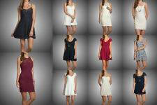 New Hollister by Abercrombie Women BreakWall Lace Strap Dresses Skater Fit Size