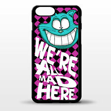 "Cover for Iphone 6 Plus Alice in wonderland cheshire cat quote 5.5"" phone case"