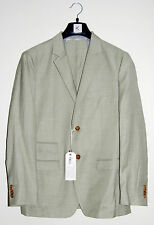 NWT Scott James Designer Mens Tod Green Wool Blend Blazer