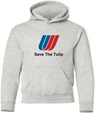 "United Airlines ""Save The Tulip"" Logo T-Shirt HOODY"