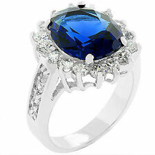 ROYAL CAMBRIDGE ENGAGEMENT RING SAPPHIRE BLUE 6 CT - BRAND NEW - FREE SHIPPING