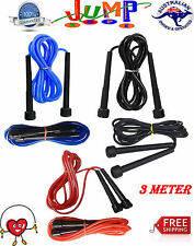 Jumping MMA Boxing Speed Cardio Gym Exercise Fitness Skipping Jump Rope 3meter