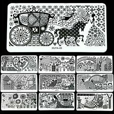 Beautiful Nail Art DIY Image Stamping Device Plate Manicure Template 32 Styles
