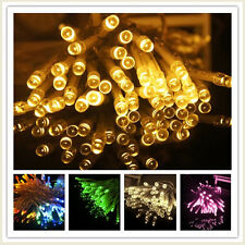 5M 50 LED AA Battery Powered Copper Wire Fairy Light String Xmas Wedding Gift