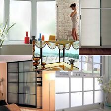 1m/3m Privacy Frosted Frost Home Bedroom Bathroom Glass Window PVC Film Stickers