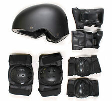 TBF Skate Protection Set  7 in 1 Combo Set w/  Helmet Skateboard Scooter BMX