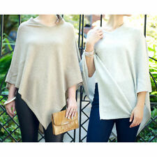 Cashmere Cape Shawl Wrap Poncho V Neck New Soft One Size Luxury Wool Womens Gift
