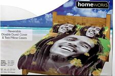Bob Marley Fully Reversible Duvet Set and pillowcase(s) Cracking Designs