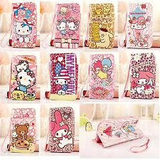 New Cartoon Card Stand Strap Leather Wallet Flip Cover Case for iPhone 6 Plus/6