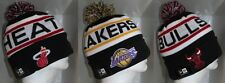 NBA NEW ERA BIGGEST FAN Cap Beanie Hat with Pom - Variety of Teams Avail