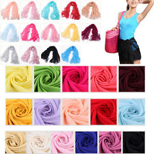 Hot Multifunctional Fashion Large Long Scarve Chiffon Wrap Neck Head Scarf Shawl