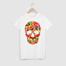 Skull Candy White McQueen Indie Swag Wasted Trill Dope Fresh Alexander T-shirt