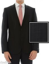 NWT $895 Hugo Boss Black Label Super 100 Italian Wool Luxurious Business Suit
