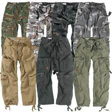 Surplus Mens Cargo Combat Military Army Work Trousers Camouflage Pants Combats