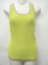 NWT SWEATER PROJECT WOMAN'S NET TOP BLOUSE GREEN  XS, S M L XL *CLEARENCE*