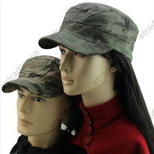 Hot Women Men Camouflage Camo Military Style Army Cadet Cap Hat Outdoor LOVERS
