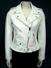Trendy Awesome Designer Lambskin Motorcycle Leather Jacket For Women EHS W- 46