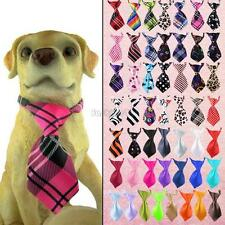 pet accessory cat dog puppy kitty adjustable cute bow neck tie collar headdress